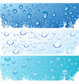 Bubbles in water vector image vector image