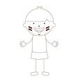 cute children vector image vector image