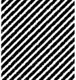Diagonal pattern of black grunge stripes vector image vector image