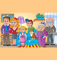 family theme image 2 vector image vector image