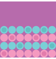 Round dot pattern background Blue Pink Purple vector image