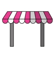store awning icon vector image