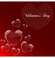 Valentines day celebrate card vector image vector image