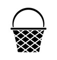 basket icon image vector image vector image