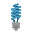 bulb cartoon fla vector image vector image