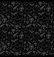 dreamlike hand-drawn seamless pattern vector image