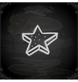 Hand Drawn Star Cookie vector image vector image