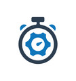 productivity control icon vector image