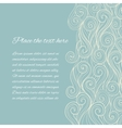 Sea Wave background with copyspace vector image vector image