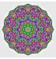 Abstract colorful circle backdrop vector image