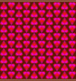 abstract pattern of pink and red shimmering vector image