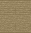 ancient cuneiform assyrian or sumerian vector image