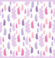 autumn leaves seamless pattern in pastel colors vector image vector image