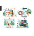 business series - set vector image