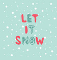 christmas and new year phrase vector image