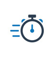 fast speed icon vector image
