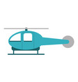 helicopter transport icon image vector image vector image
