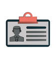 id card icon image vector image vector image
