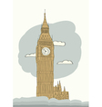 london big ben vector image