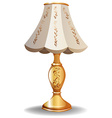Luxury lamp vector image vector image