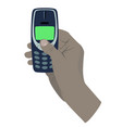 oldphone vector image