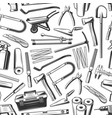 repair work tools and equipments seamless pattern vector image vector image