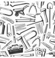 repair work tools and equipments seamless pattern vector image