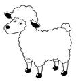 Sheep vector image vector image