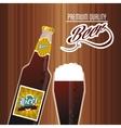 Beer icon design vector image vector image