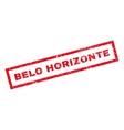 Belo Horizonte Rubber Stamp vector image vector image