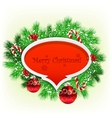 christmas garland image vector image vector image