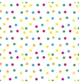 Festive confetti seamless pattern Modern vector image vector image