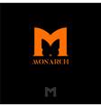 logo monarch vector image