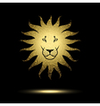 Stylized Lion vector image