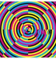 CMYK cyan magenta yellow black moire effect vector image vector image