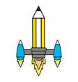 idea working pencil vector image