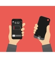 Power bank for smartphone vector image