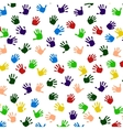 Colored Hand Print icon vector image vector image