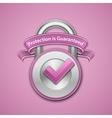 Combination lock sign vector image vector image
