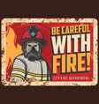 Fire danger warning or caution banner