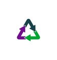 Recycling Icon vector image vector image
