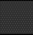 repeat geometric texture black white linear vector image vector image