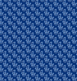 seamless anchors and rope pattern vector image