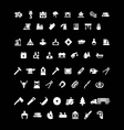 Set icons of industry vector image