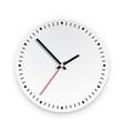 wall clock face vector image