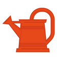 watering can care for plants in garden vector image