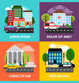 city concepts residential vector image