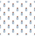 bottle of magic pattern seamless vector image vector image