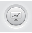 Business Analytics Icon Concept vector image vector image