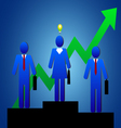 Business people idea vector image vector image
